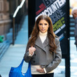 Anna Kendrick Anna Kendrick On Set Of The 'Love Life'
