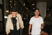 AnnaLynne McCord Is Seen at LAX