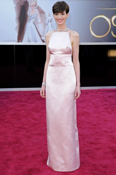 Anne Hathaway - Arrivals at the 85th Annual Academy Awards
