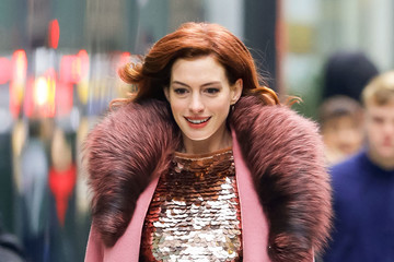 Anne Hathaway Anne Hathaway Out And About