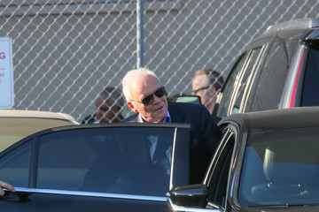 Anthony Hopkins Anthony Hopkins Is Spotted on the Set of  'Jimmy Kimmel Live'