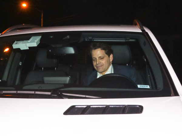 Anthony Scaramucci Is Seen Outside Craig's Restaurant In West Hollywood