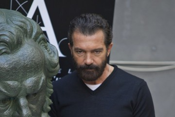 Antonio Banderas Antonio Banderas Honored in Madrid