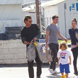 Apollo Rossdale Gavin Rossdale Is Seen Out Shopping
