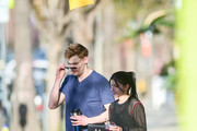 Ariel Winter and Levi Meaden shopping in Studio City