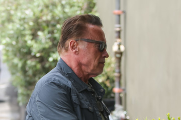 Arnold Schwarzenegger Arnold Schwarzenegger out and about