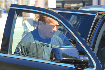 Arnold Schwarzenegger Arnold Schwarzenegger Runs Errands In Los Angeles