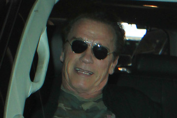 Arnold Schwarzenegger Arnold Schwarzenegger Departs from LAX