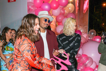 Ashley Graham Umar Kamani Ashley Graham Is Seen At The PrettyLittleThing Launch In West Hollywood