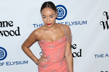 Ashley Madekwe Celebrities Attend Art of Elysium's 9th Annual Heaven Gala