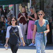 Ashley Newbrough Lucy Hale Steps Out in Los Angeles on July 17