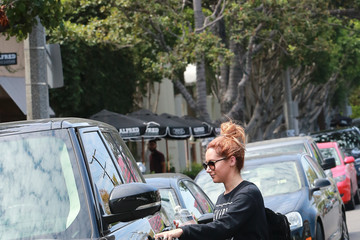 Ashley Tisdale Ashley Tisdale Out in Beverly Hills