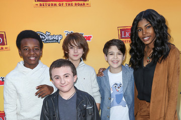 Atticus Shaffer Celebrity Arrive at 'The Lion Guard: Return of the Roar'