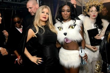 Azealia Banks Backstage at the Life Ball