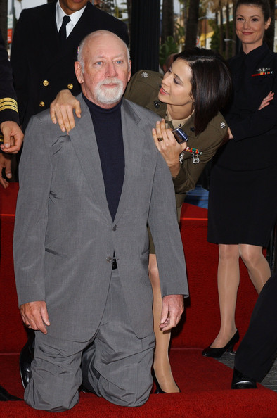 David Bellisario http://www.zimbio.com/pictures/h532eGng6xm/Donald+P+Bellisario+Honored+Hollywood+Walk/B9_5R_QluOL