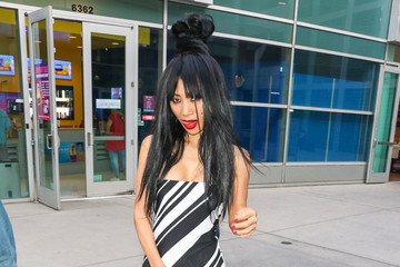 Bai Ling Bai Ling Outside ArcLight Theatre In Hollywood
