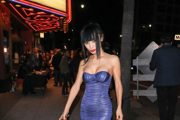 Bai Ling Bai Ling Arrives at the 'Living Among Us' Premiere at Ahrya Fine Arts Theater