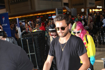 Bella Thorne Scott Disick and Bella Thorne Are Spotted at LAX