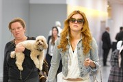Bella Thorne Travels in Style