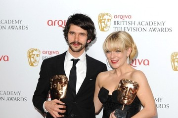 Ben Whishaw Press Room at the BAFTA TV Awards