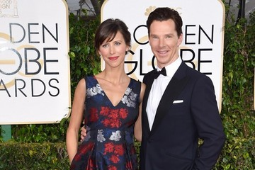 Benedict Cumberbatch Arrivals at the Golden Globe Awards