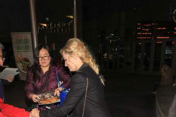 Beth Behrs Beth Behrs Leaving 'The Female Brain' Premiere at ArcLight Theatre