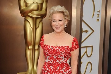 Bette Midler Arrivals at the 86th Annual Academy Awards