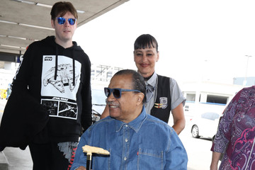 Billy Dee Williams Billy Dee Williams Is Seen at LAX