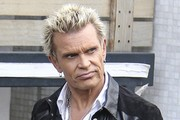 Billy Idol Arrives at the ITV Studios