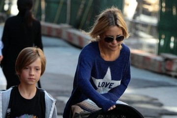 Bingham Hawn Bellamy Kate Hudson and Her Boys Take a Stroll in NYC
