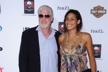 Photo of Ron Perlman & his  Daughter  Blake Perlman
