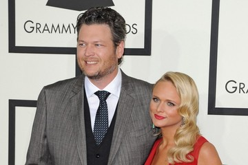 Blake Shelton Arrivals at the Grammy Awards