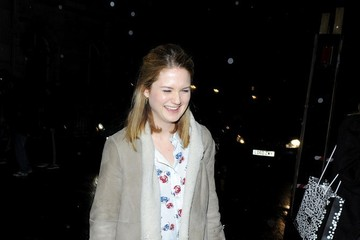 Bonnie Wright Arrivals at the InStyle Pre-BAFTA Party