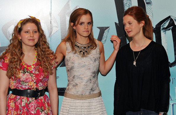 Bonnie Wright - Harry Potter and the Half-Blood Prince Photocall