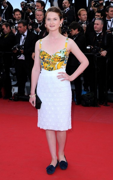 Bonnie Wright - 'On The Road' Premieres at Cannes