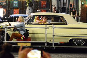 Brad Pitt Brad Pitt On The Set Of 'Once Upon A Time In Hollywood'
