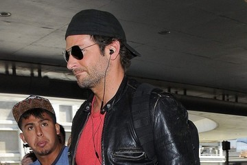 Bradley Cooper Bradley Cooper Arrives at LAX