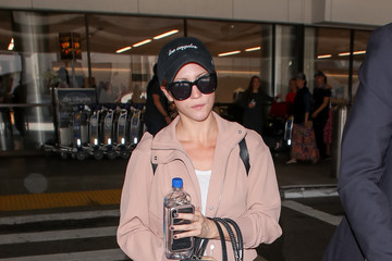 Brittany Snow Brittany Snow at LAX International Airport