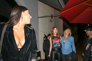Brittny Gastineau and Lisa Gastineau are seen in Los Angeles, California.