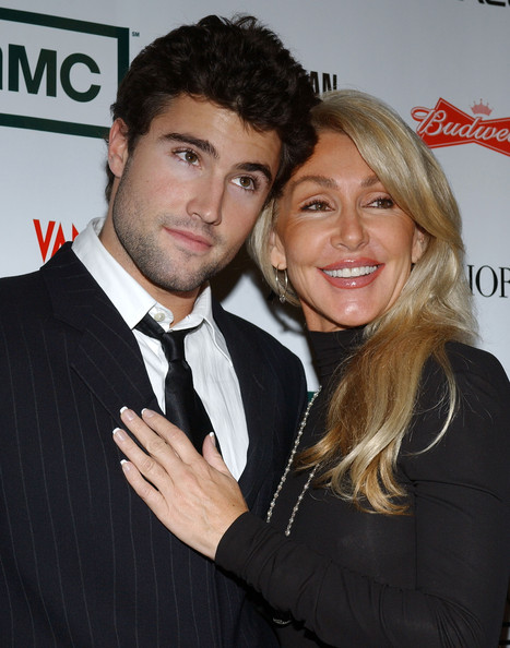 Photo of Brody Jenner & his  Mother  Linda Thompson