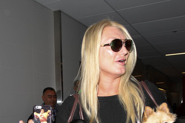 Brooke Hogan Brooke Hogan is Seen at LAX