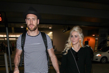 Brooks Laich Brooks Laich and Julianne Hough at LAX
