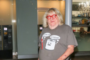 Bruce Vilanch Outside ArcLight Theatre In Hollywood
