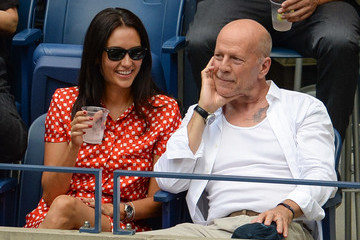Bruce Willis Celebrities Attend the US Open at USTA Billie Jean King National Tennis Center