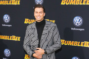 Pierson Fode is seen is attending Premiere of Paramount Pictures' 'Bumblebee' at TCL Chinese Theatre in Los Angeles, California.