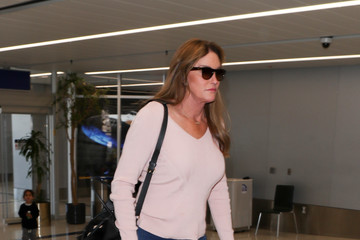 Caitlyn Jenner Ellen Pompeo And RuPaul Out And About