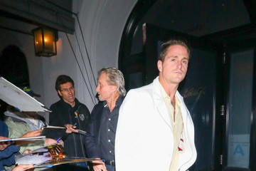 Cameron Douglas Michael Douglas Is Seen At Craig's Restaurant In West Hollywood
