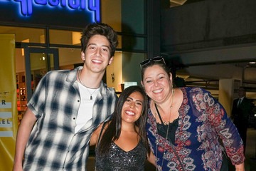 Camryn Manheim Milo Manheim And Camryn Manheim Outside ArcLight Theatre In Hollywood