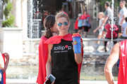 Candace Cameron Bure spends time supporting Lollipop Theater Network on April 30, 2017.