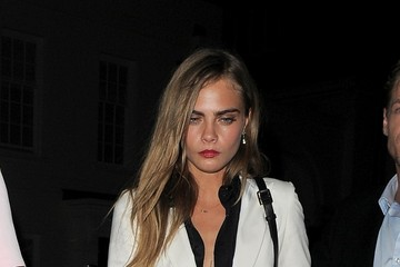 Cara Delevingne Cara Delevingne and Suki Waterhouse Out in London